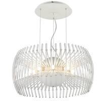 Golden Lighting Iberlamp Terra #C180-L-WH Large Pendant Chandelier