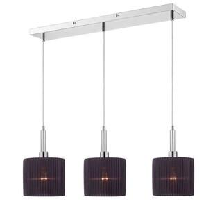 Golden Lighting Solal 3-light Linear Pendant