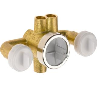 Delta Jetted Shower 6-Setting Rough-In Valve with Extra Outlet R1827-XO