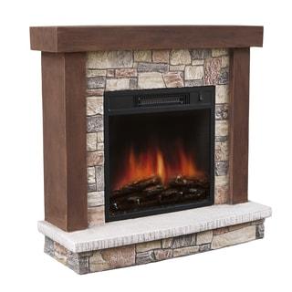 Urban Mountain Lodge Electric Fireplace