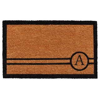 Chelsea Monogram Doormat (1'6 x 2'6)
