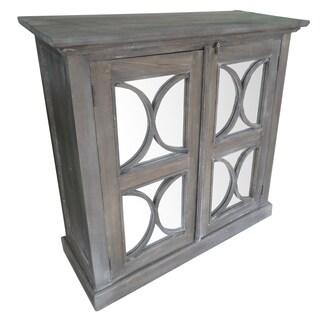 Walnut Wood 39-inch x 16-inch x 39-inch Cabinet