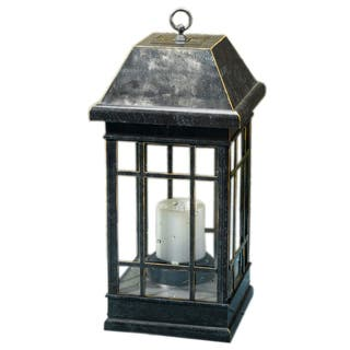"Smart Solar 3960KR1 15"" San Rafael II Table Top Solar Mission Lantern