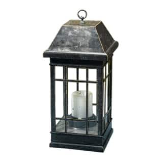 "Smart Solar 3900KR1 24"" San Rafael Estate Solar Mission Lantern
