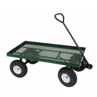 """Millside Industries Inc. 20X38WFF 20"""" X 38"""" Metal Deck Wagon"""