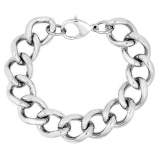 Men's Stainless Steel Curb Link Bracelet