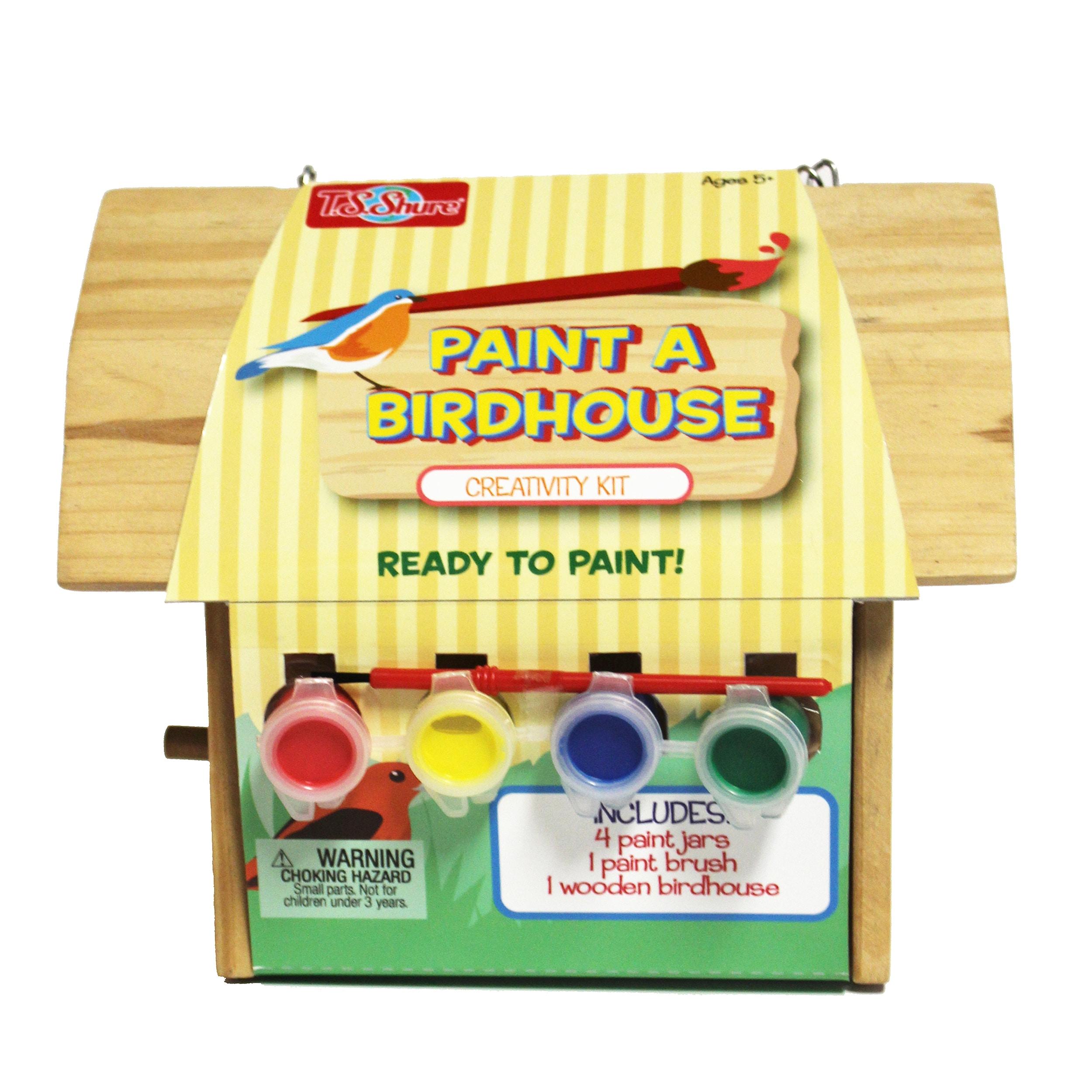 T.S. Shure Wooden Paint a Bird House (1)