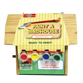 T.S. Shure Wooden Paint a Bird House