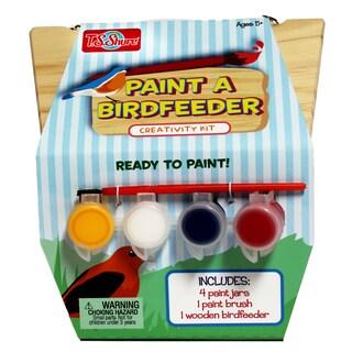 T.S. Shure Wooden Paint a Bird Feeder
