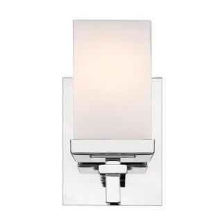 Laurel Designs Maddox Chrome Steel 1-light Bath Vanity