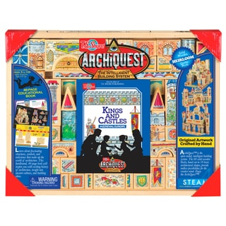 ArchiQuest 68 Piece Kings and Castles Puzzle