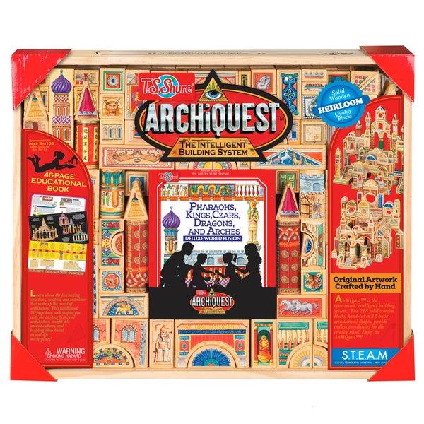 ArchiQuest Deluxe World Fusion 218 Piece Puzzle