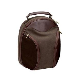 Goodhope Bellino Leather/Twill Golf-shoe Bag