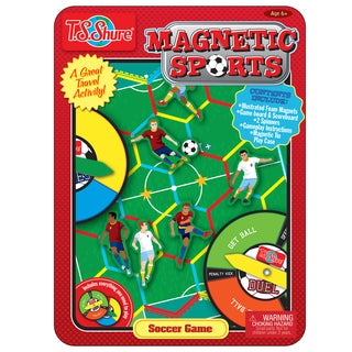 T.S. Shure Soccer Magnetic Sports Game Tin