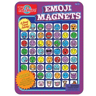 T.S. Shure Emoji Magnets Magnetic Tin Playset