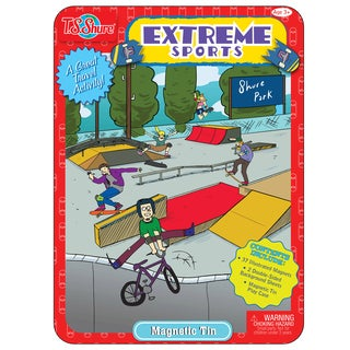 T.S. Shure Extreme Sports Magnetic Tin Play Set
