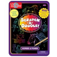 T.S. Shure Scratch-A-Doodle Horse Activity Tin