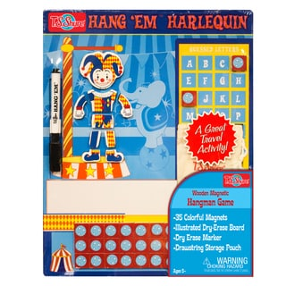 T.S. Shure Harlequin Wooden Magnetic Hang Em Game
