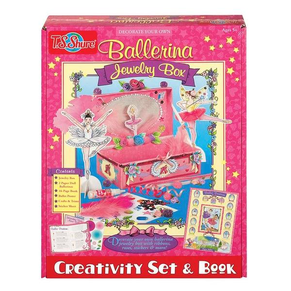 Ballerina Jewelry Box Creativity Set and Book