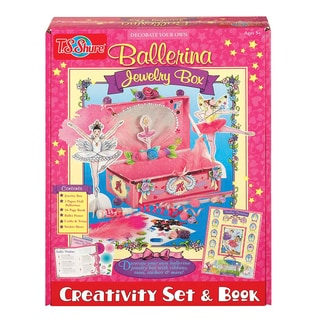Ballerina Jewelry Box Creativity Set and Book