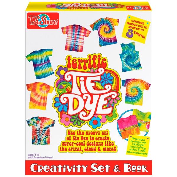 Terrific Tie Dye Creativity Set and Book