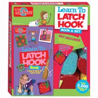 Learn To Latchhook Activity Set and Book
