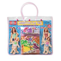 Babysitter Play Time Wooden Magnetic Dress-Up Dolls