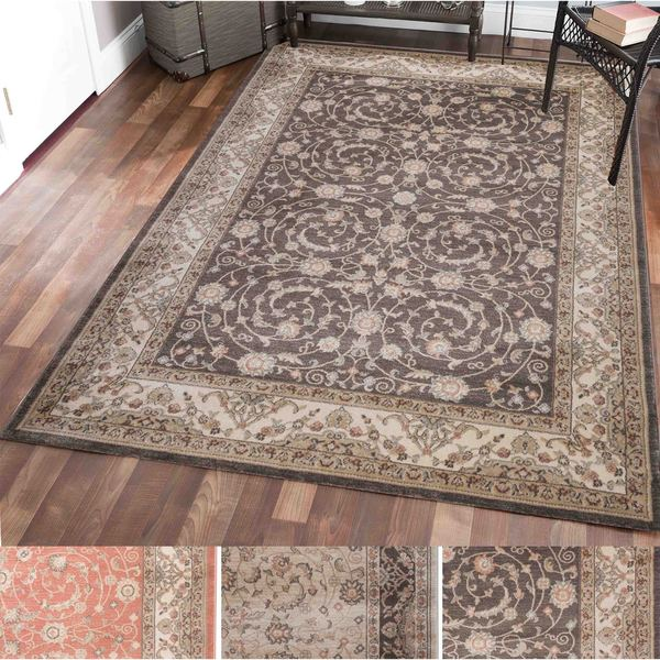 Shop Gallina Vines Olefin Area Rug 5 3 X 7 3 Free