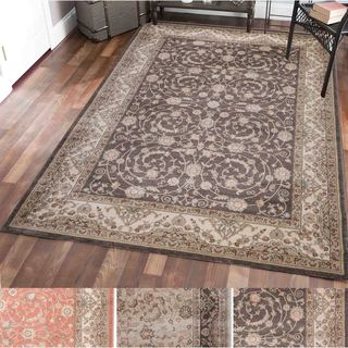 Admire Home Living Gallina Vines Multicolor Olefin Area Rug (3'3 x 4'11)