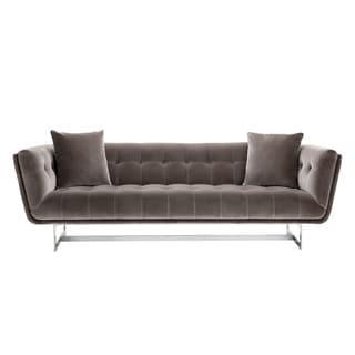 Giotto Grey Fabric Centennial Contemporary Sofa
