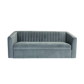 Eva Polyester Sofa in Granite Grey