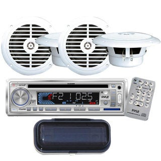 Pyle KTMRGS114 AM/FM-MPX Marine CD/MP3/USB/SD-player In-dash Car/Boat Radio