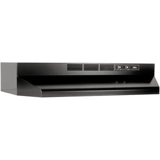 Broan-NuTone Black Metal Two-speed Non-ducted Under-cabinet Range Hood
