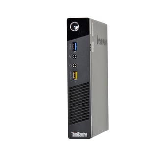 Lenovo ThinkCentre M73 Tiny Pentium G3220T 2.6GHz CPU 4GB RAM 500GB HDD Windows 10 Pro Computer (Refurbished)