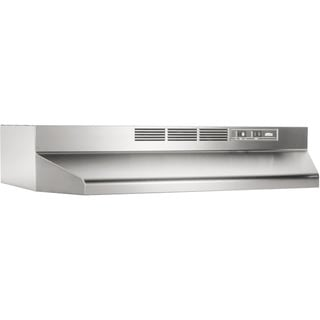 Broan-NuTone, LLC. Two-Speed Non-ducted Stainless Steel 24-inch Under-cabinet Range Hood