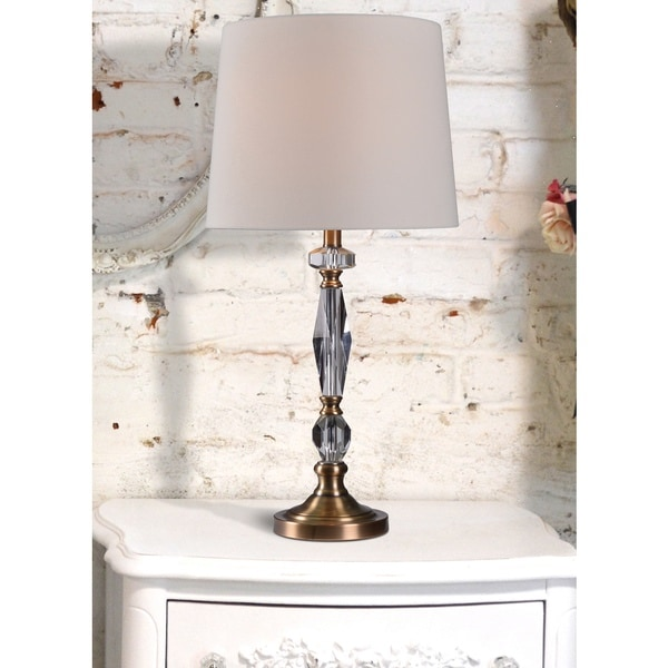 Silver Orchid Lombard Table Lamp