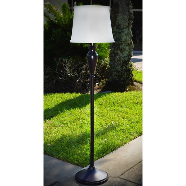 Oxford Solar Outdoor Floor Lamp Free Shipping Today