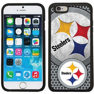 ProMark NFL Licensed Pittsburgh Steelers Polymer Rugged Case for Apple IPhone 6 or 6S