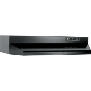 Broan Black Metal 30-inch Two-speed Ducted Under-cabinet Range Hood