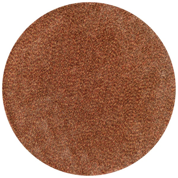 Hand-tufted London Textured Round Shag Rug - 7'10 x 7'10