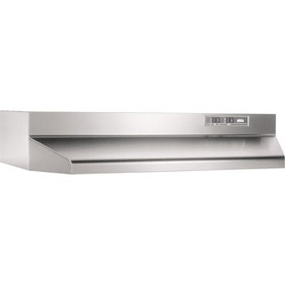 Broan Stainless-steel 30-inch 2-speed Ducted Under-cabinet Range Hood
