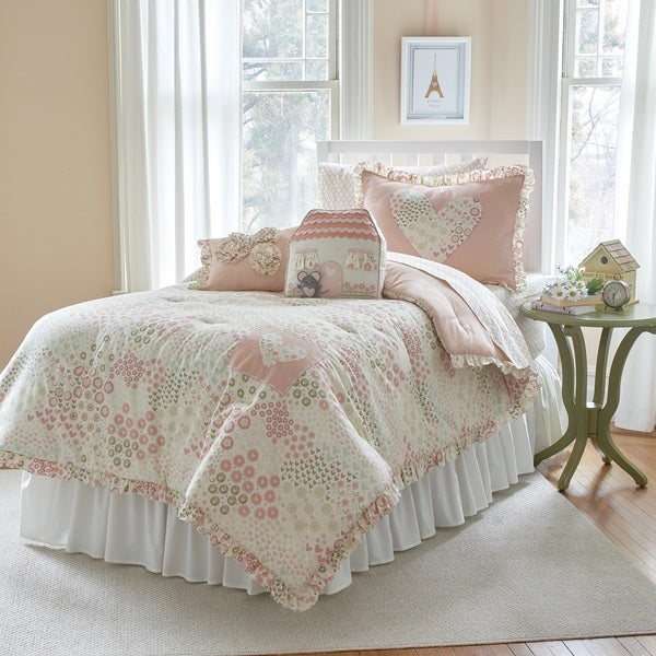 Frank and Lulu Spring Meadow 3-piece Comforter Set