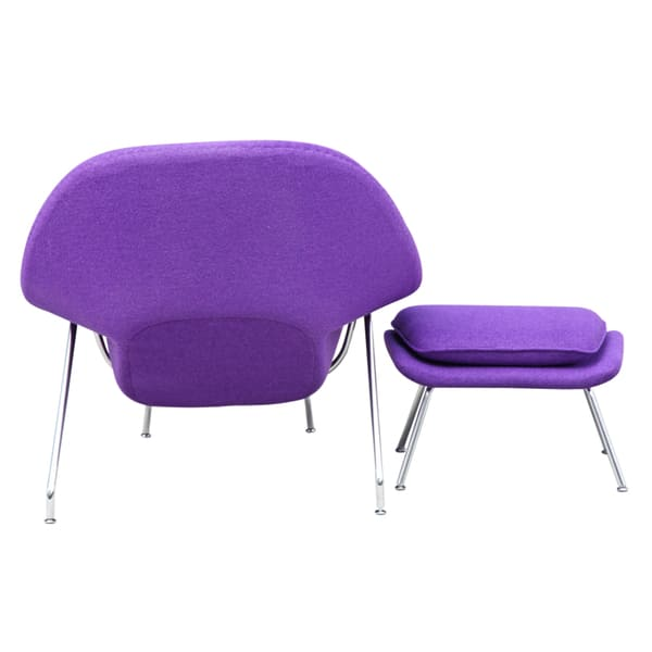 Phenomenal Woom Purple Chair And Ottoman Gamerscity Chair Design For Home Gamerscityorg