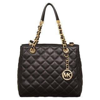 Michael Kors Small Susannah Black North/South Tote Bag