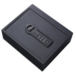 Stack-On Black Electronic Drawer Safe