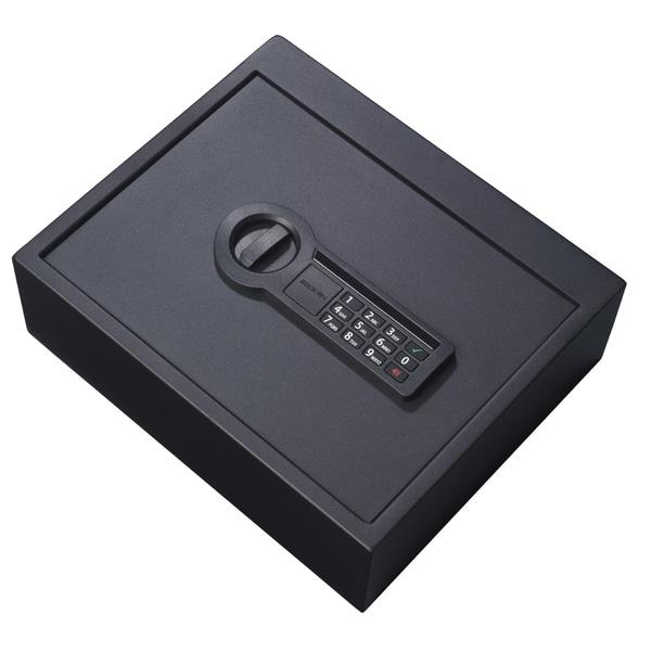 Stack-On Black Electronic Drawer Safe