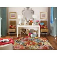 "Mohawk Home New Wave Charm Multi Area Rug (7'6 x 10') - 7'6"" x 10'"