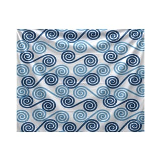 E by Design Rip Curl Geometric Print Tapestry
