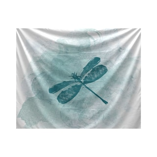 E by Design Dragonfly Summer Animal Print Tapestry