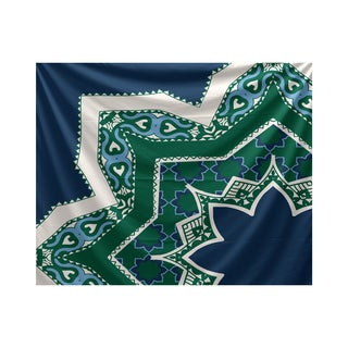 E by Design Rising Star 80-inch x 60-inch Geometric Print Tapestry